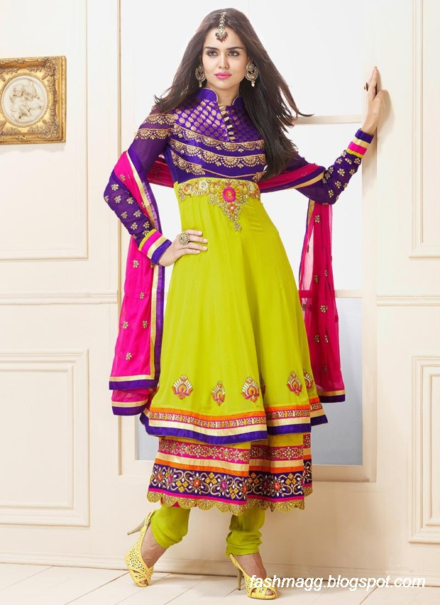 Anarkali-Umbrella-Wedding-Brides-Fancy-Party-Wear-Frocks-2013-Latest-Fashionable-Clothes-15