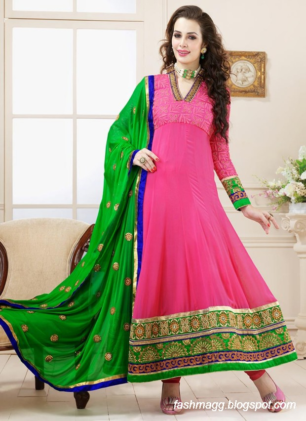 Anarkali-Umbrella-Wedding-Brides-Fancy-Party-Wear-Frocks-2013-Latest-Fashionable-Clothes-19