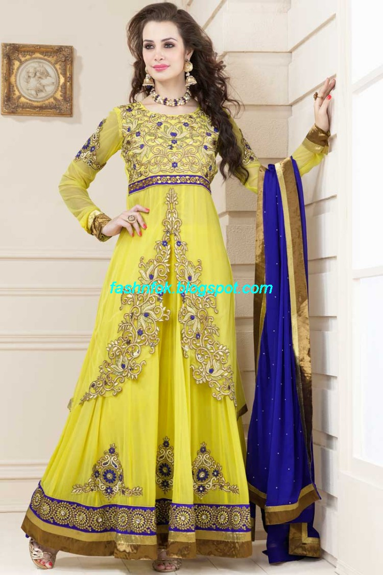 Anarkali-Umbrella-Wedding-Brides-Fancy-Party-Wear-Frocks-2013-Latest-Fashionable-Clothes-2