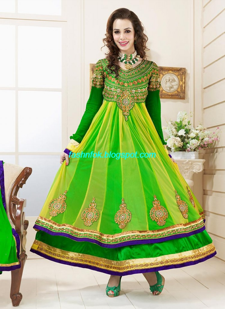 Anarkali-Umbrella-Wedding-Brides-Fancy-Party-Wear-Frocks-2013-Latest-Fashionable-Clothes-4