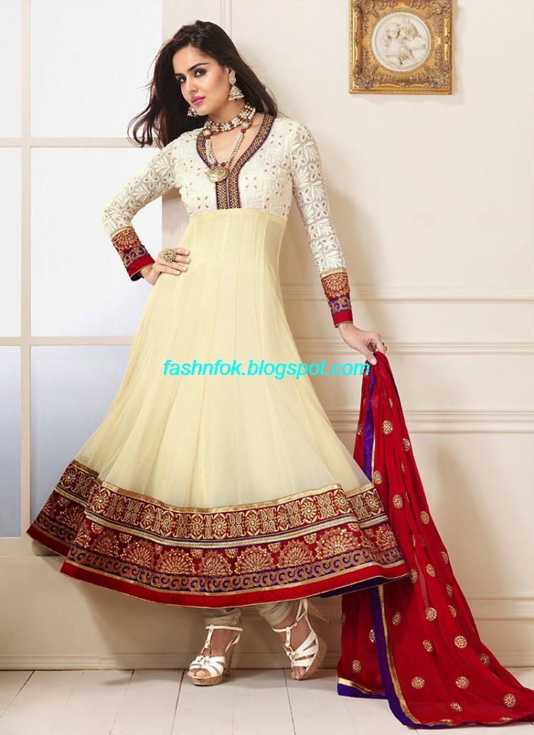 Anarkali party wear dresses online shopping