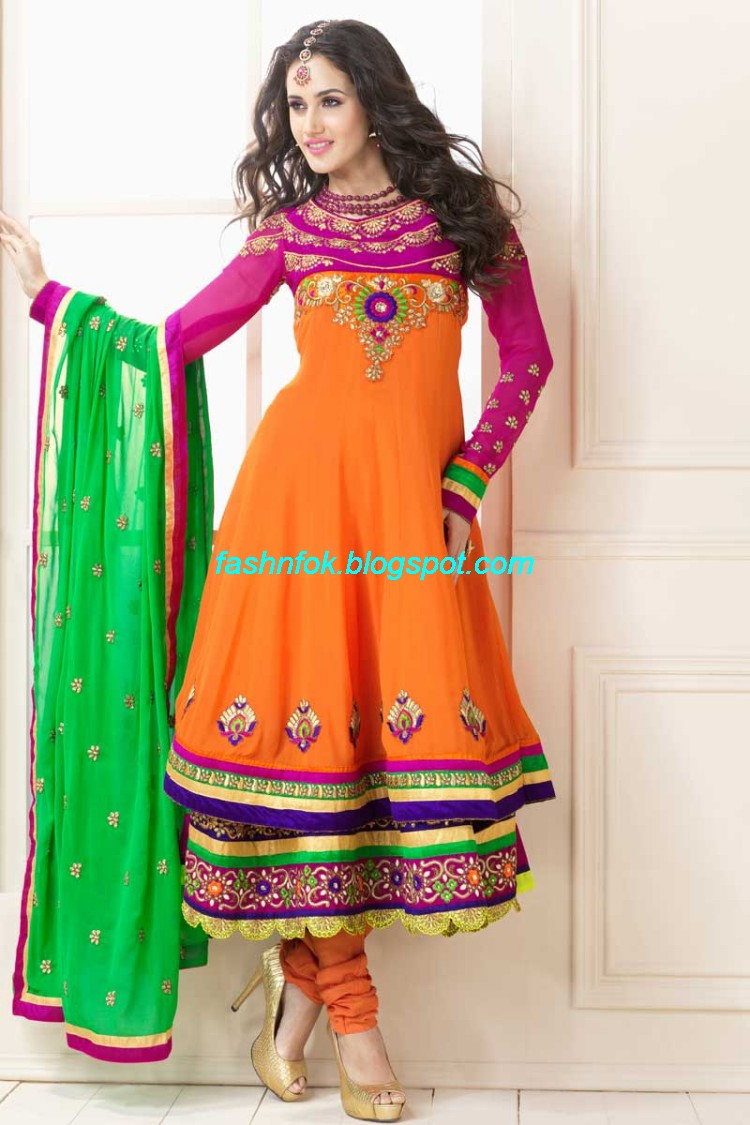 Anarkali-Umbrella-Wedding-Brides-Fancy-Party-Wear-Frocks-2013-Latest-Fashionable-Clothes-