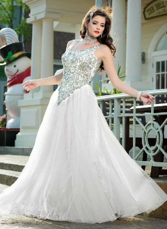 White Wedding Dresses Online India 69