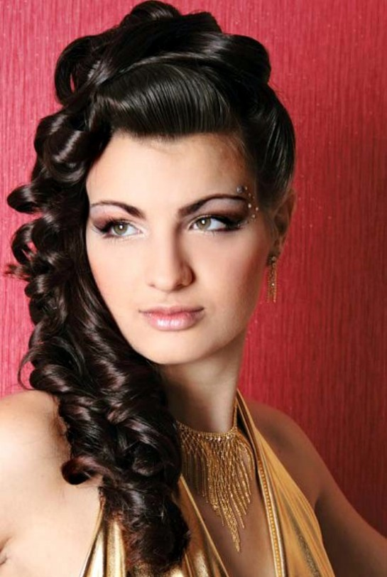 indian simple hair style wedding hairstyles for 2014 indian 5645
