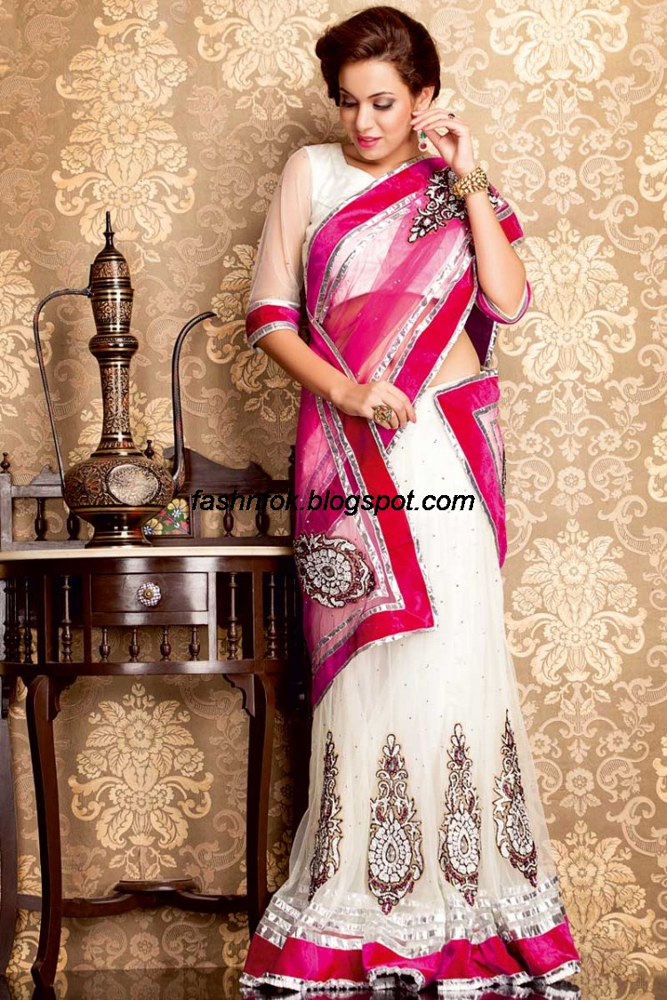 Bridal-Wedding-Wear-Sari-Lehenga-Choli-Latest-Brides-Outfit-for-Girls-Women-2013-13
