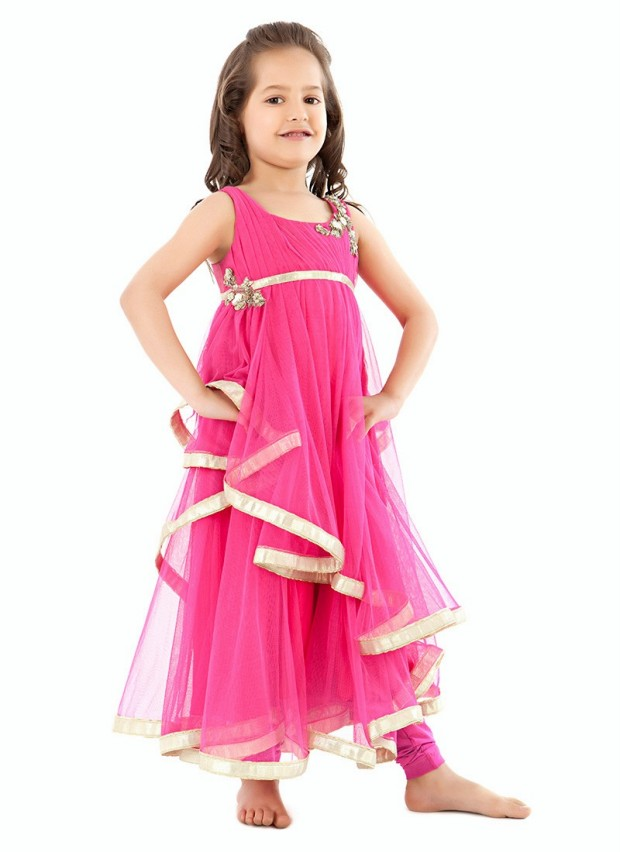 Indian-Child-Lehenga-Salwar-Kameez-Frock-and-Kurta-by-Kidology-Designer-Kidswear-Dresses-2013-3