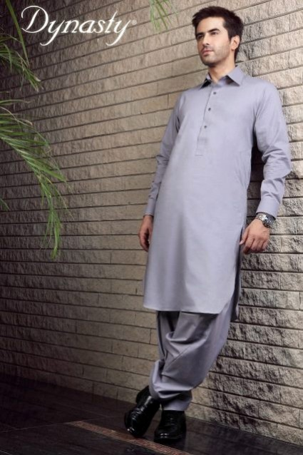 Mens-Wear-Cotton-Embroidered-Kurta-Pajama-By-Dynasty-Fabrics-New-Fall-Collection-2013-14-16