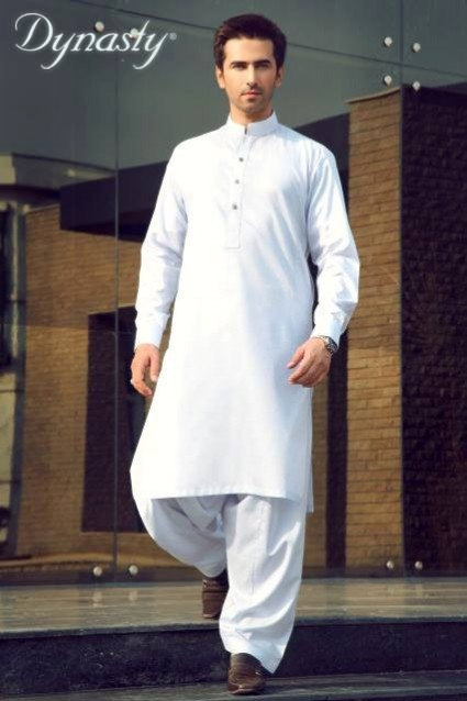 Mens-Wear-Cotton-Embroidered-Kurta-Pajama-By-Dynasty-Fabrics-New-Fall-Collection-2013-14-18