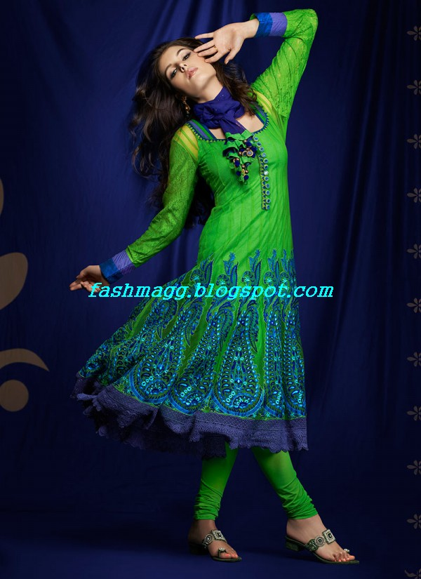 Anarkali-Formal-Party-Wear-Girls-Frock-New-Indian-Pakistani-Designer-Fashion-Dress-8