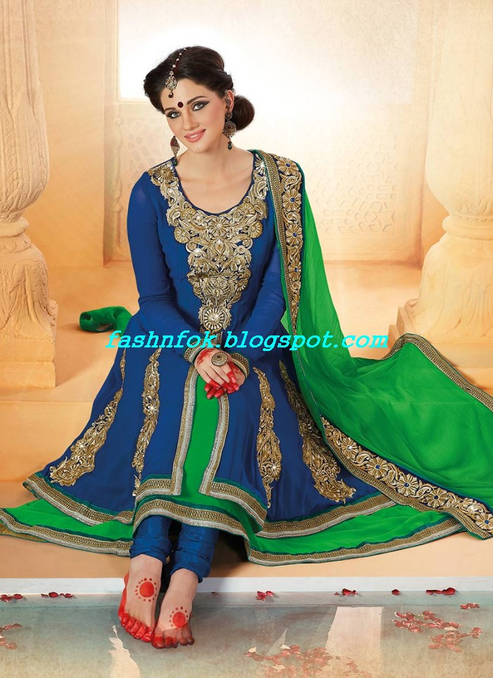 Beautiful-Anakrali-Umbrella-Frock-With-Churidar-Pajama-New-Fashion-Suits-2013-14-by-Designer-Amna-3
