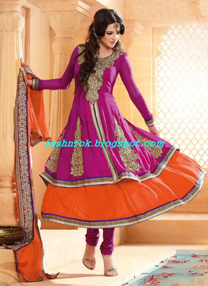 Beautiful-Anakrali-Umbrella-Frock-With-Churidar-Pajama-New-Fashion-Suits-2013-14-by-Designer-Amna-4