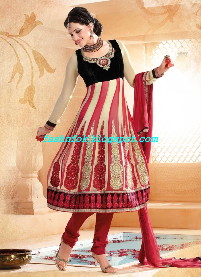 Beautiful-Anakrali-Umbrella-Frock-With-Churidar-Pajama-New-Fashion-Suits-2013-14-by-Designer-Amna-5