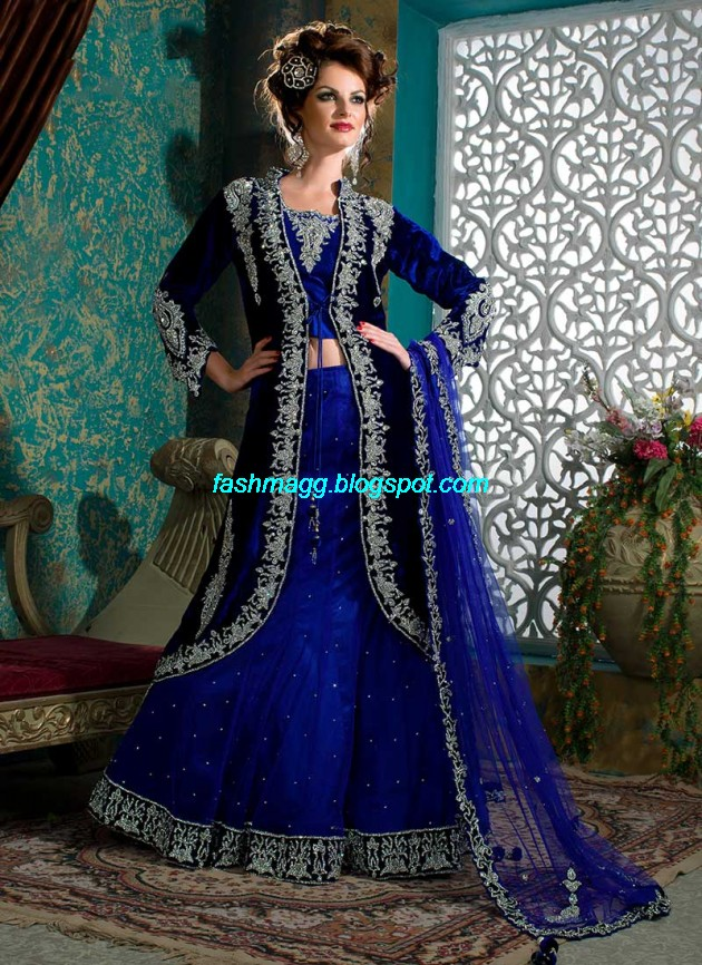 Beautiful-Cute-Girls-Wear-Bridal-Lehenga-Choli-New-Fashion-Dress-Design-2013-5