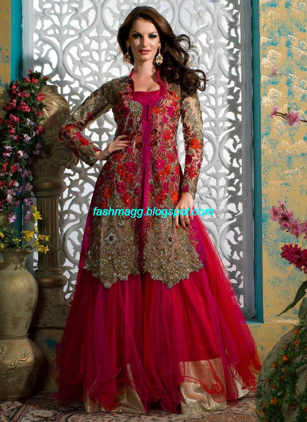 Beautiful-Cute-Girls-Wear-Bridal-Lehenga-Choli-New-Fashion-Dress-Design-2013-8