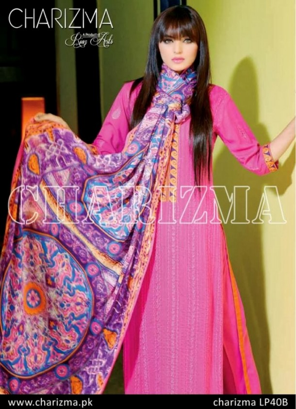 Beautiful-Girls-Wear-Stich-Embroidered-Clothes-New-Fashion-by-Charizma-Winter-Dress-2013-14-3