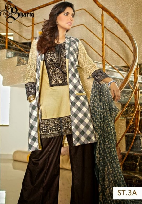Girls-Women-Wear-Beautiful-New-Winter-Autumn-Clothes-2013-14-by-Shariq-Textile-11