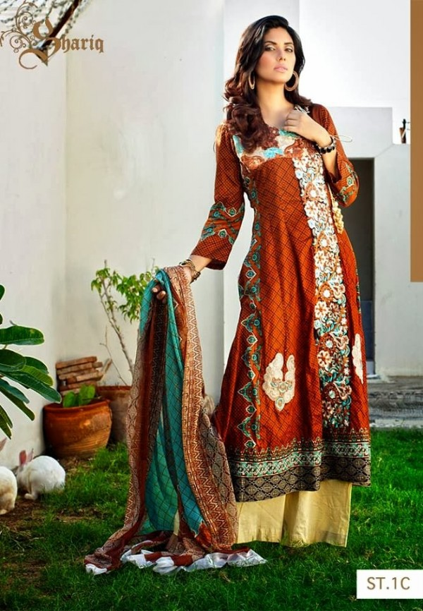 Girls-Women-Wear-Beautiful-New-Winter-Autumn-Clothes-2013-14-by-Shariq-Textile-3