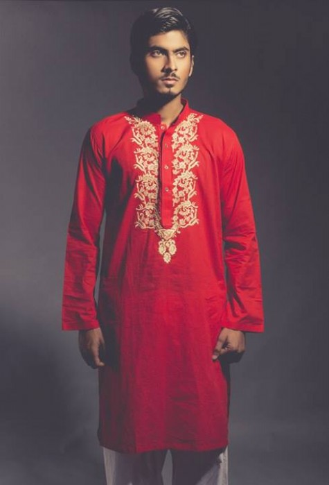 New-Look-Mens-Gents-Wear-Embriodered-Kurtas-Salwar-2013-14-By-Deepak-n-Fahad-1