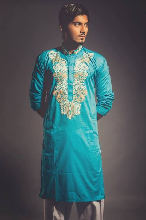 New-Look-Mens-Gents-Wear-Embriodered-Kurtas-Salwar-2013-14-By-Deepak-n-Fahad-3