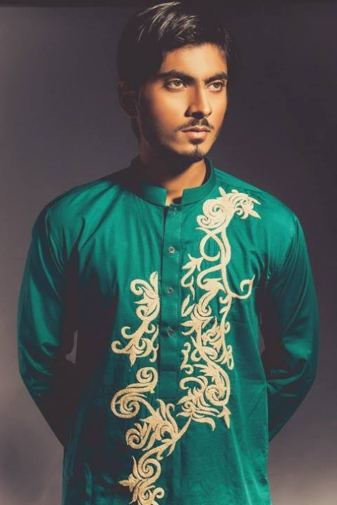New-Look-Mens-Gents-Wear-Embriodered-Kurtas-Salwar-2013-14-By-Deepak-n-Fahad-4