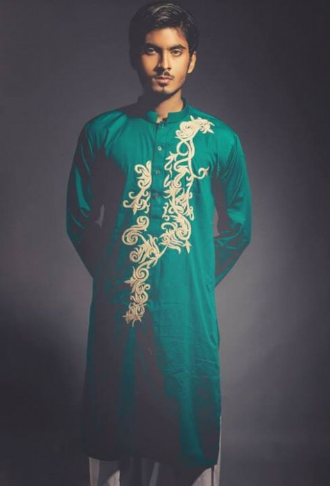 New-Look-Mens-Gents-Wear-Embriodered-Kurtas-Salwar-2013-14-By-Deepak-n-Fahad-5