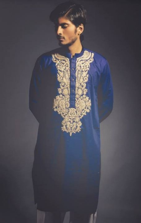 New-Look-Mens-Gents-Wear-Embriodered-Kurtas-Salwar-2013-14-By-Deepak-n-Fahad-9