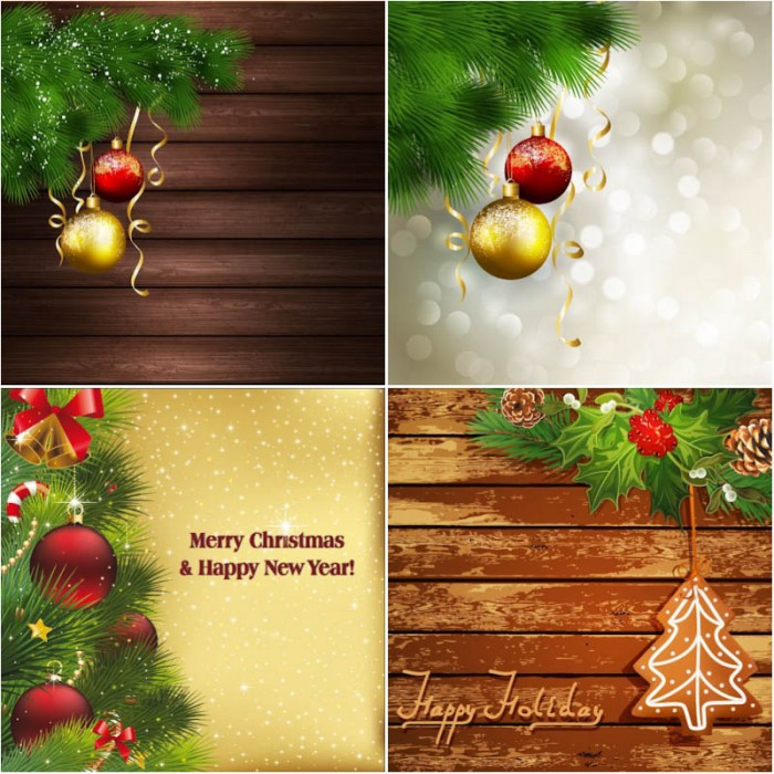 Backgrounds Christmas Ornments