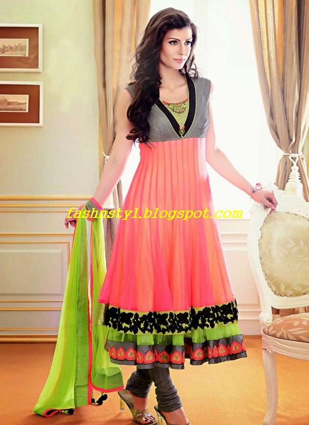 Beautiful-Gorgeous-Anarkali-Bridal-Wedding-Frock-New-Fashion-Trend-for-Cute-Girls-2013-14-12