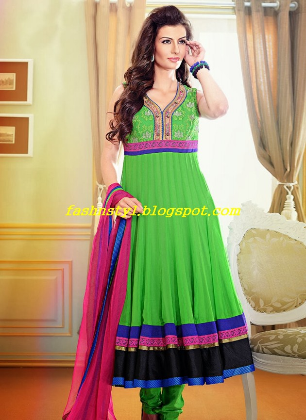 Beautiful-Gorgeous-Anarkali-Bridal-Wedding-Frock-New-Fashion-Trend-for-Cute-Girls-2013-14-14