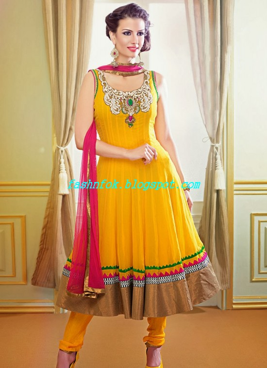 Beautiful-Gorgeous-Anarkali-Bridal-Wedding-Frock-New-Fashion-Trend-for-Cute-Girls-2013-14-29