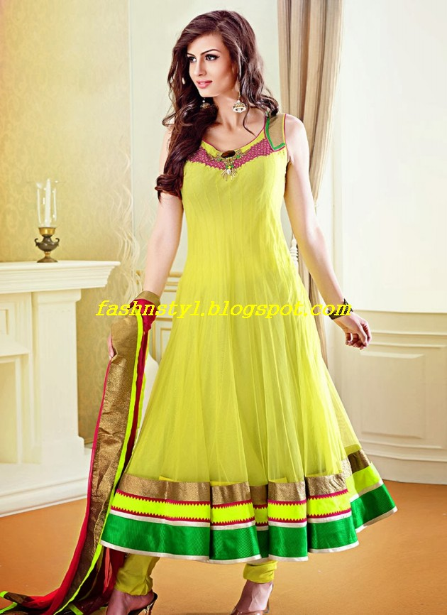 Beautiful-Gorgeous-Anarkali-Bridal-Wedding-Frock-New-Fashion-Trend-for-Cute-Girls-2013-14-3