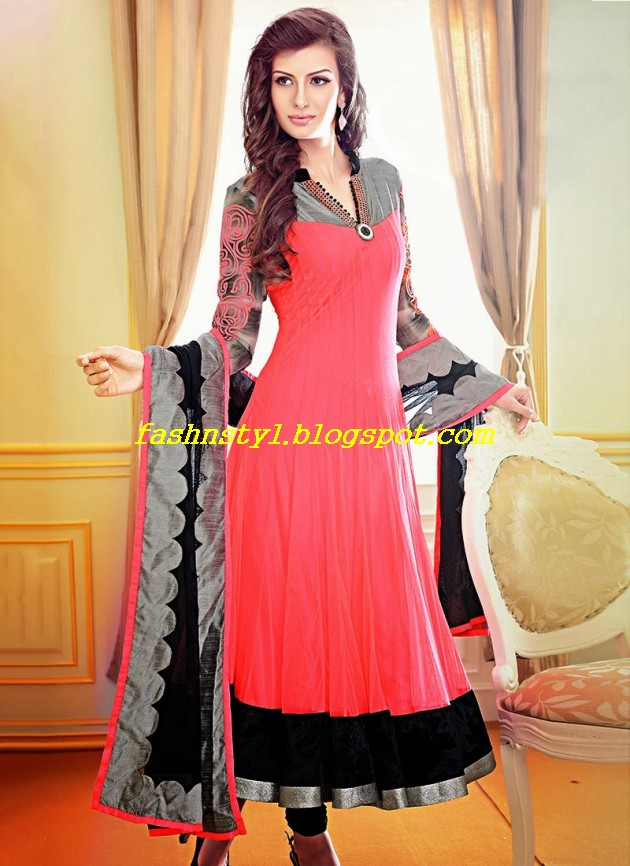 Beautiful-Gorgeous-Anarkali-Bridal-Wedding-Frock-New-Fashion-Trend-for-Cute-Girls-2013-14-4