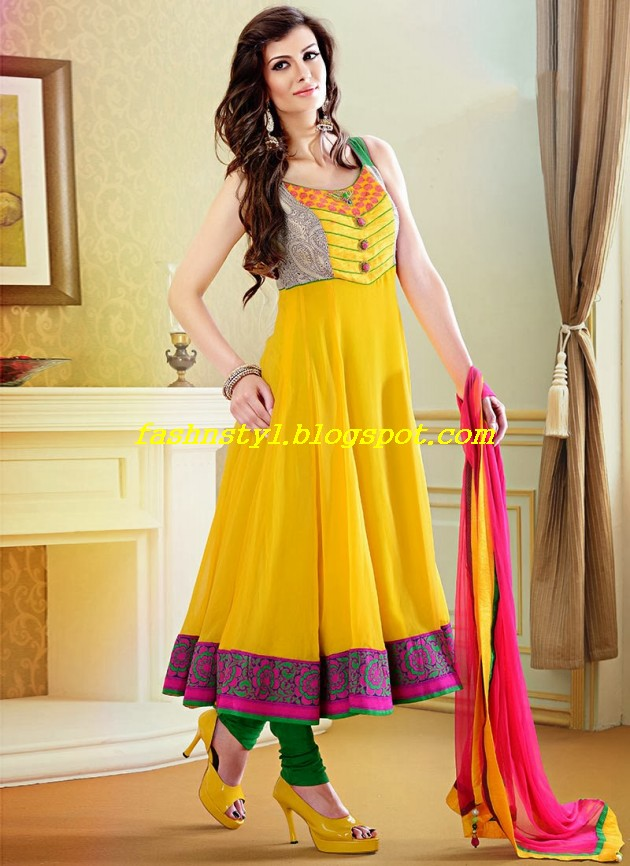 Beautiful-Gorgeous-Anarkali-Bridal-Wedding-Frock-New-Fashion-Trend-for-Cute-Girls-2013-14-6