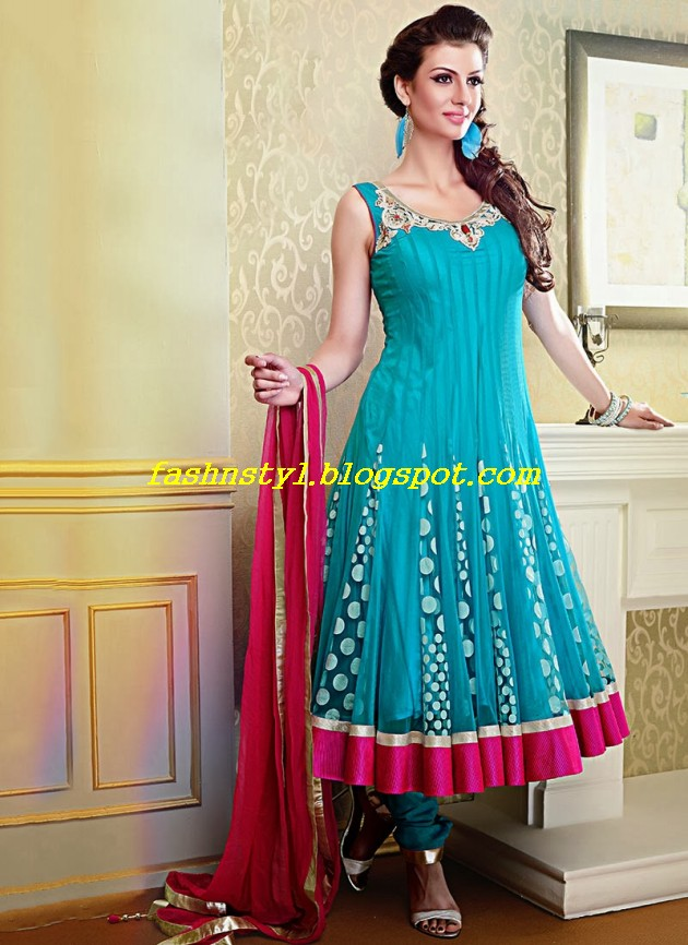 Beautiful-Gorgeous-Anarkali-Bridal-Wedding-Frock-New-Fashion-Trend-for-Cute-Girls-2013-14-9