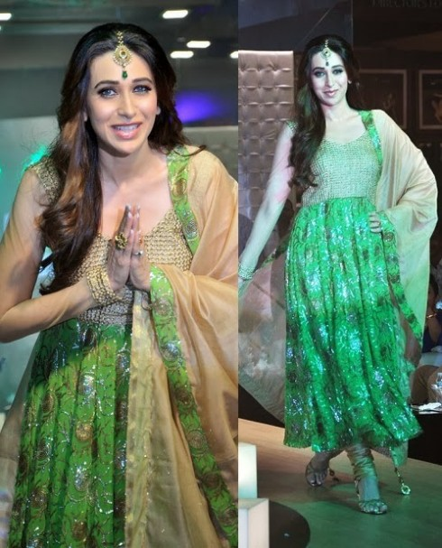 Bollywood-Fashion-Designer-Wear-Outfit-Karishma-Kapoor-New-Amazing-Look-1