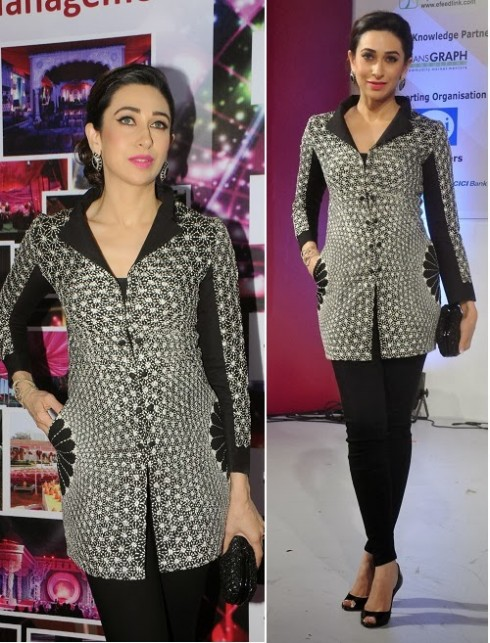 Bollywood-Fashion-Designer-Wear-Outfit-Karishma-Kapoor-New-Amazing-Look-3