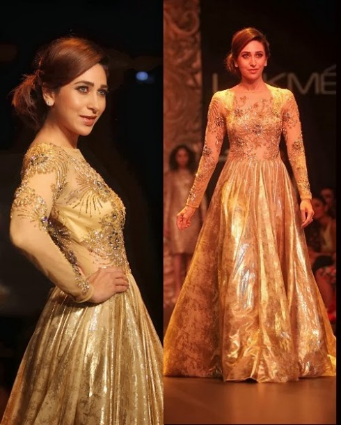 Bollywood-Fashion-Designer-Wear-Outfit-Karishma-Kapoor-New-Amazing-Look-7