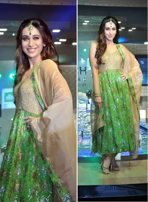 Bollywood-Fashion-Designer-Wear-Outfit-Karishma-Kapoor-New-Amazing-Look-
