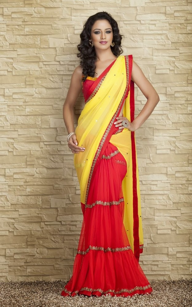 Indian-Designers-Beautiful-Bridal-Wedding-Saree-dress-Design-New-Fashionable-Sari-for-Girls-Women-1