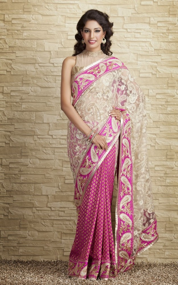Indian-Designers-Beautiful-Bridal-Wedding-Saree-dress-Design-New-Fashionable-Sari-for-Girls-Women-6