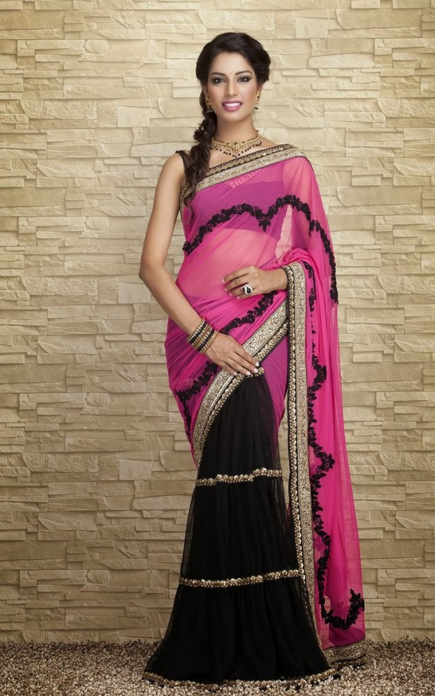 Indian-Designers-Beautiful-Bridal-Wedding-Saree-dress-Design-New-Fashionable-Sari-for-Girls-Women-9