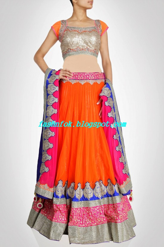 Anarkali-Bridal-Wedding-Lehenga-New-Fashion-Outfits-by-Kiran-&-Shruti-Aksh-1