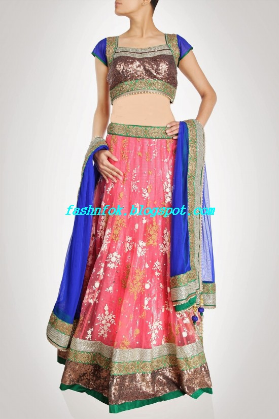 Anarkali-Bridal-Wedding-Lehenga-New-Fashion-Outfits-by-Kiran-&-Shruti-Aksh-8