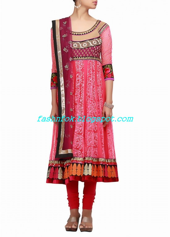 Anarkali-Fancy-Embroidered-Churidar-Frock-New-Fashion-For-Girls-by-Designer-Kalki-7