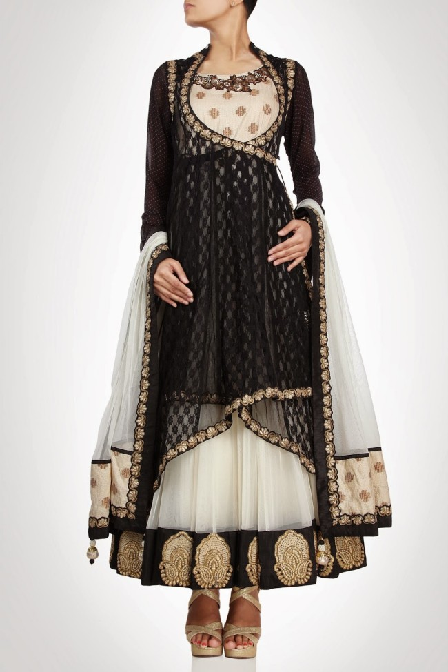 Anarkali-Gorgeous-Bridal- Wedding-Ankle-Length-Dress-by-Designer-Kiran-&-Shruti-Aksh-14