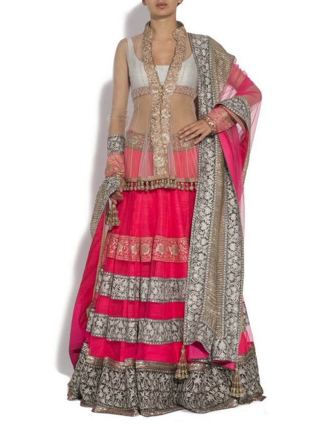 Beautiful-Cute-Bridal-Wedding-Wear-Suits-for-Girls-Womens-New-Fashion-Outfits-by-Manish-Malhotra-2