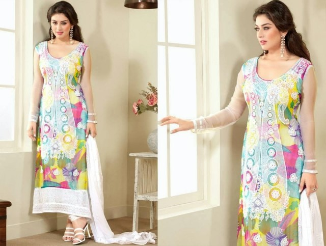 Beautiful-Girls-Wear-Indian-Salwar-Kameez-New-Fashion-Outfits-Dress-by-Straight-Cut-Trendy-Clothes-11