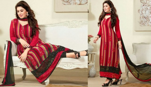 Beautiful-Girls-Wear-Indian-Salwar-Kameez-New-Fashion-Outfits-Dress-by-Straight-Cut-Trendy-Clothes-2
