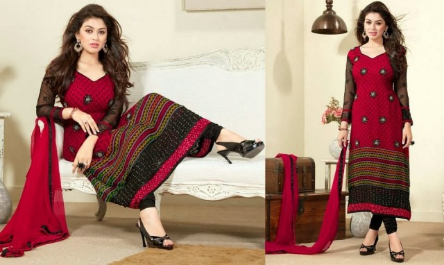 Beautiful-Girls-Wear-Indian-Salwar-Kameez-New-Fashion-Outfits-Dress-by-Straight-Cut-Trendy-Clothes-4