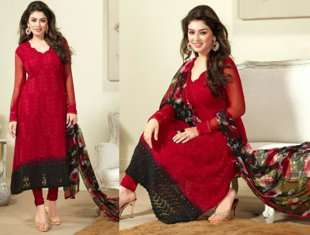 Beautiful-Girls-Wear-Indian-Salwar-Kameez-New-Fashion-Outfits-Dress-by-Straight-Cut-Trendy-Clothes-8